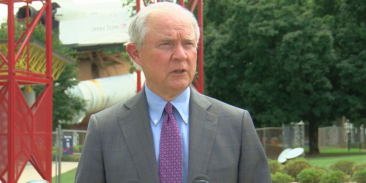 Sessions makes campaign stop in Huntsville