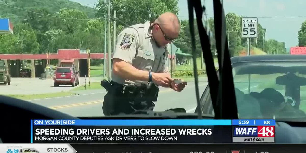 Morgan County sees increase in speeding drivers and serious wrecks