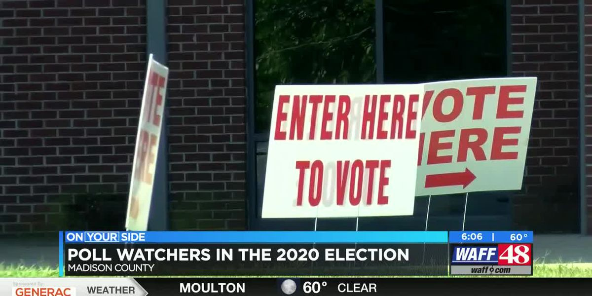 Poll watchers in the 2020 general election: What to expect in Madison County