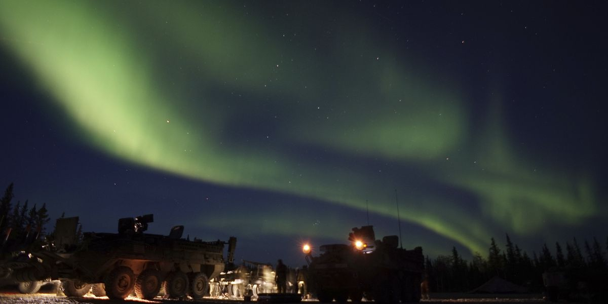 Northern lights may sweep across northern US