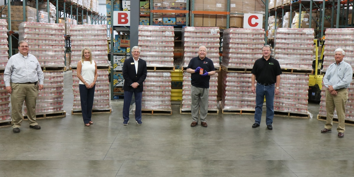 Alabama Food Bank Association receives peanut butter donation from state peanut producers