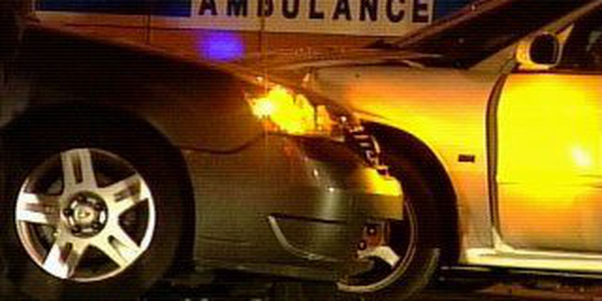 Two hurt in overnight car accident