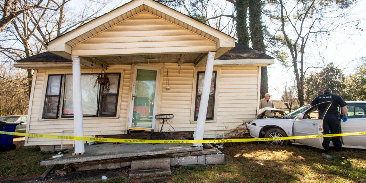 Man crashes into Florence woman's home