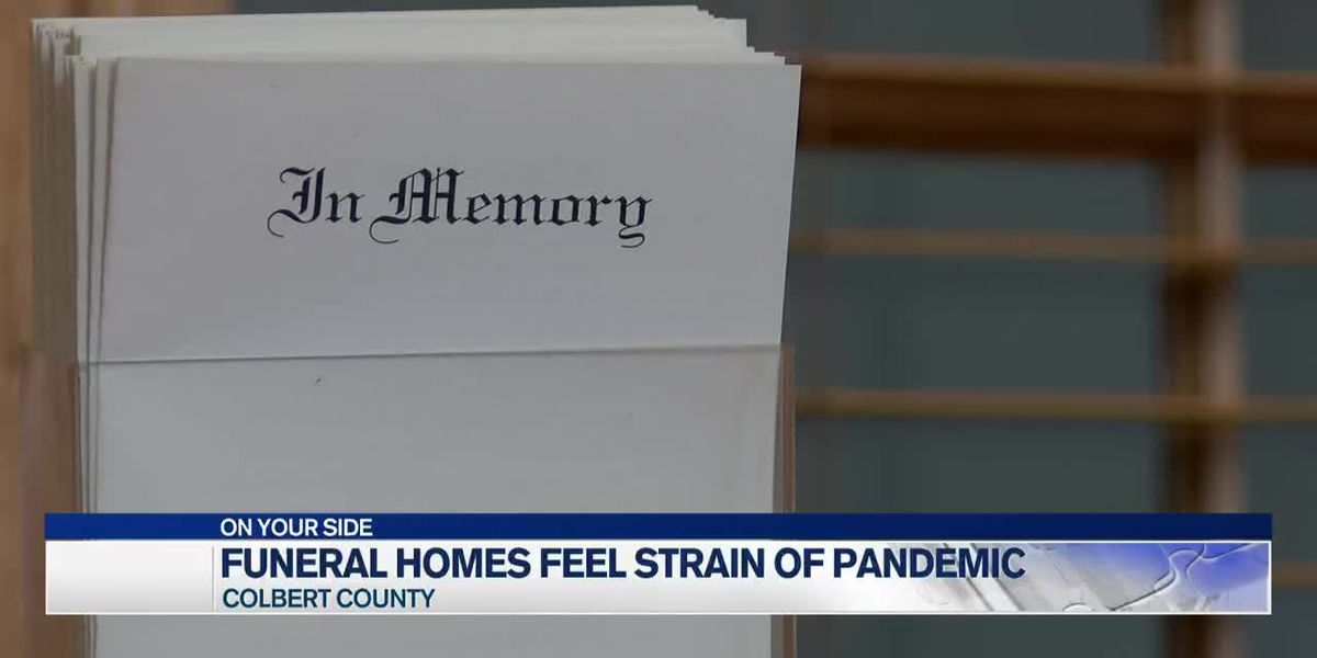 Funeral homes still feeling effects of COVID-19