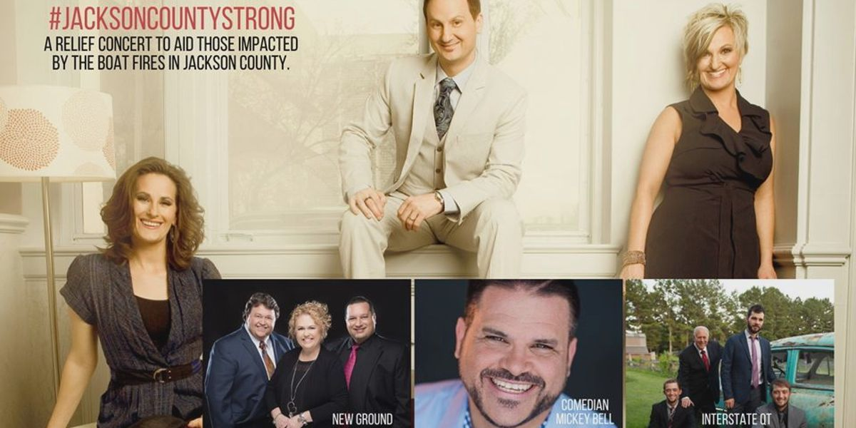 Jackson County Strong benefit concert set for Friday