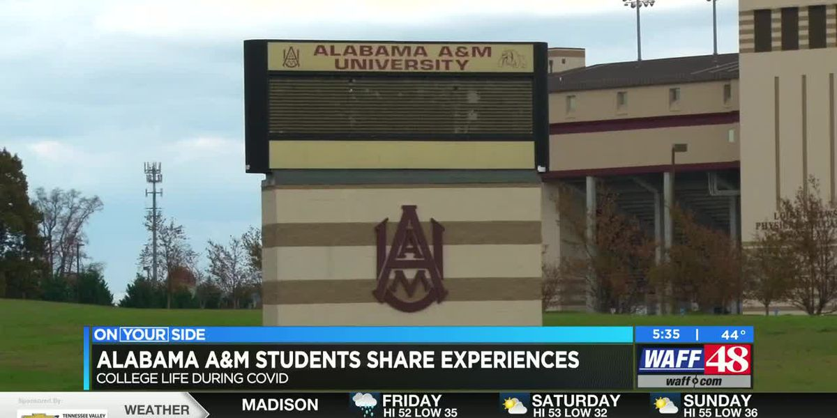 Alabama A&M students share senior year experience during the pandemic