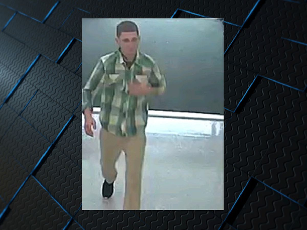 Crime Stoppers: Thief steals from Huntsville sporting goods store