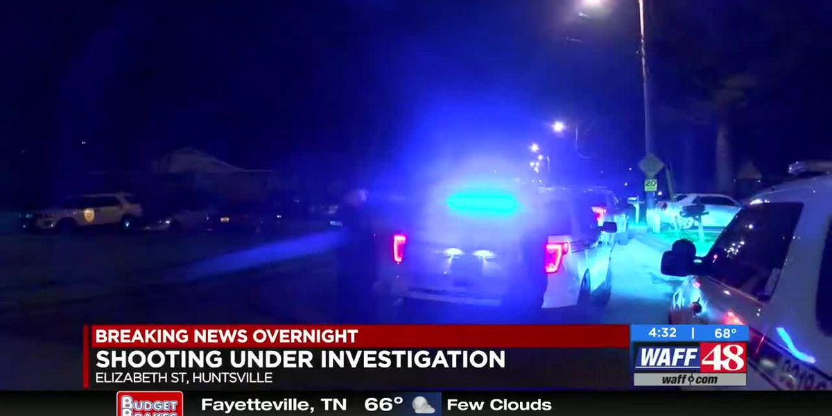 Police investigating two overnight shootings in Huntsville