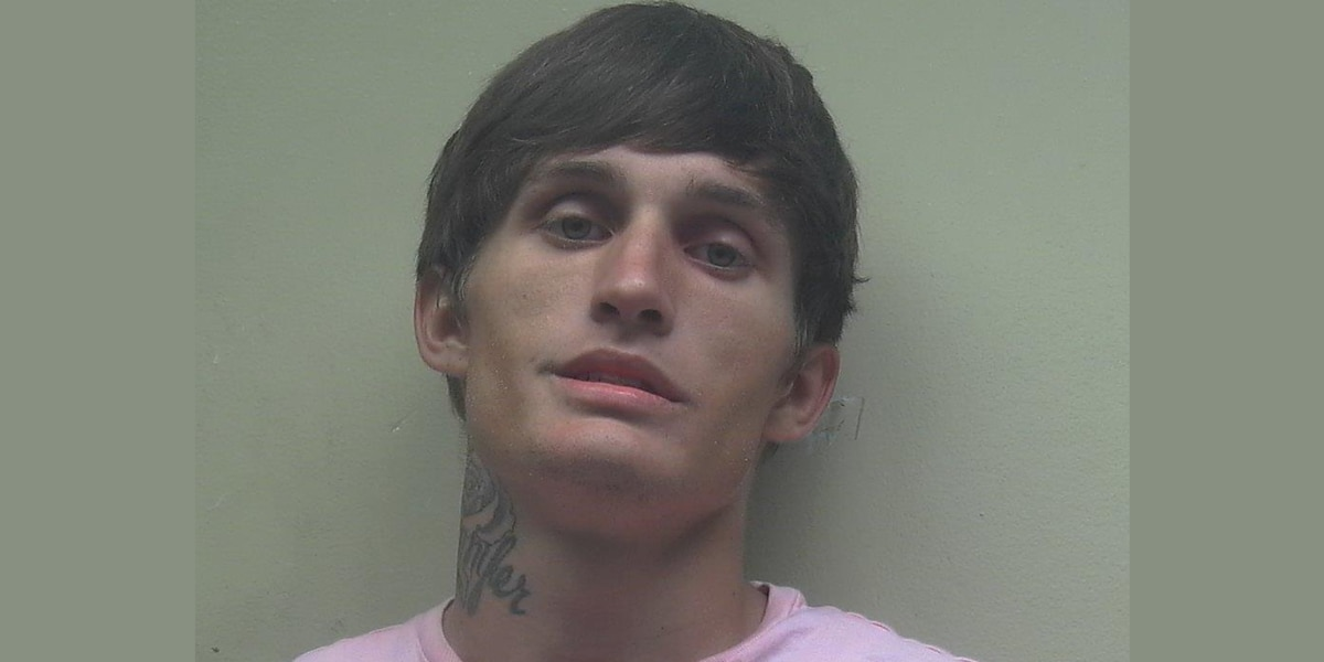 Man arrested in Florence for stealing a vehicle from local gas station