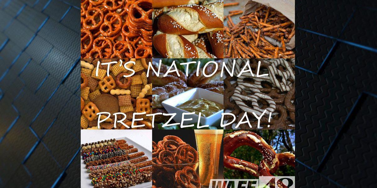 It's National Pretzel Day!