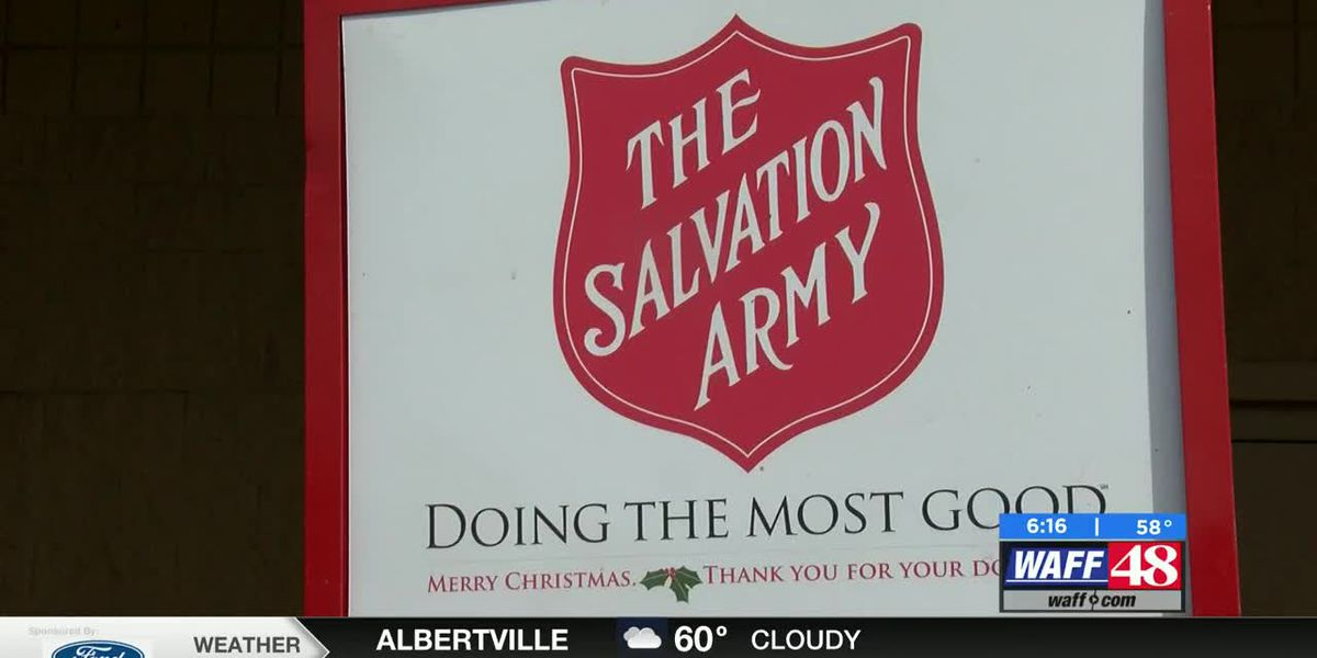 Anonymous donor matching Salvation Army Red Kettle donations in the Shoals