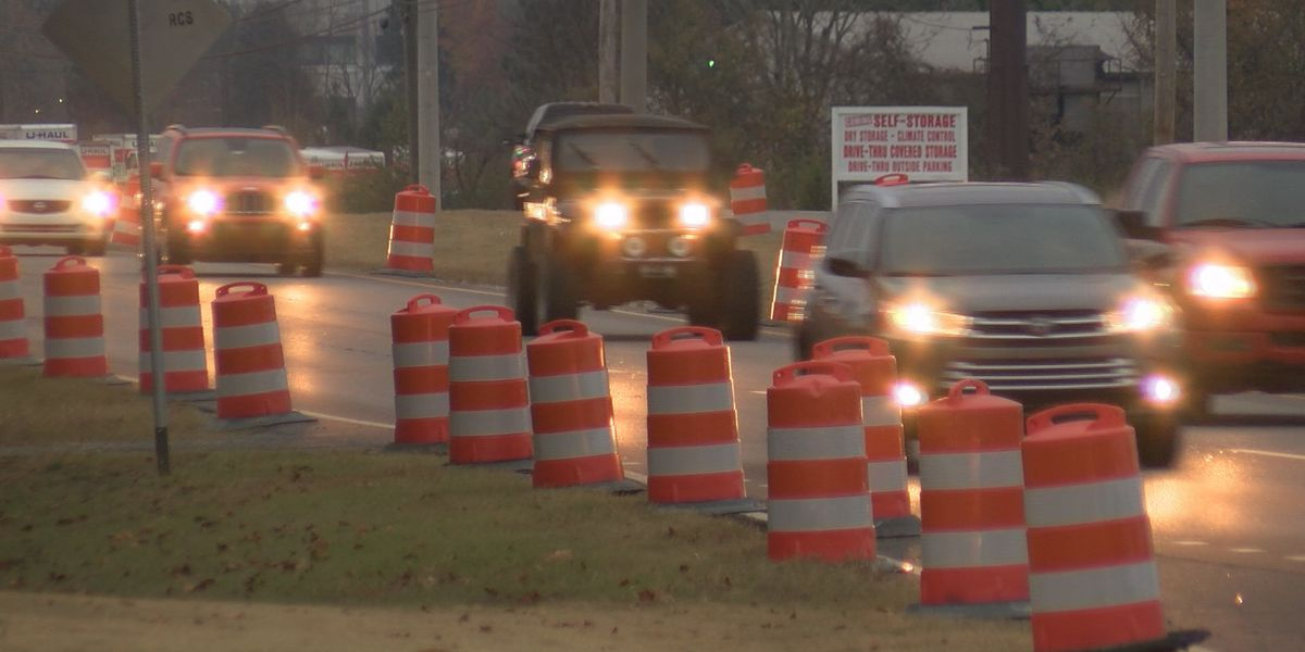 Rain and roads: Recent weather may be slowing north Alabama road work