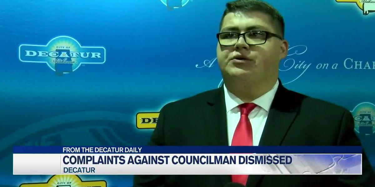Decatur City Councilman cleared of election complaint