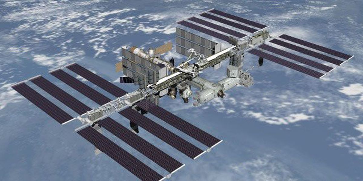 ISS passing over Huntsville this weekend