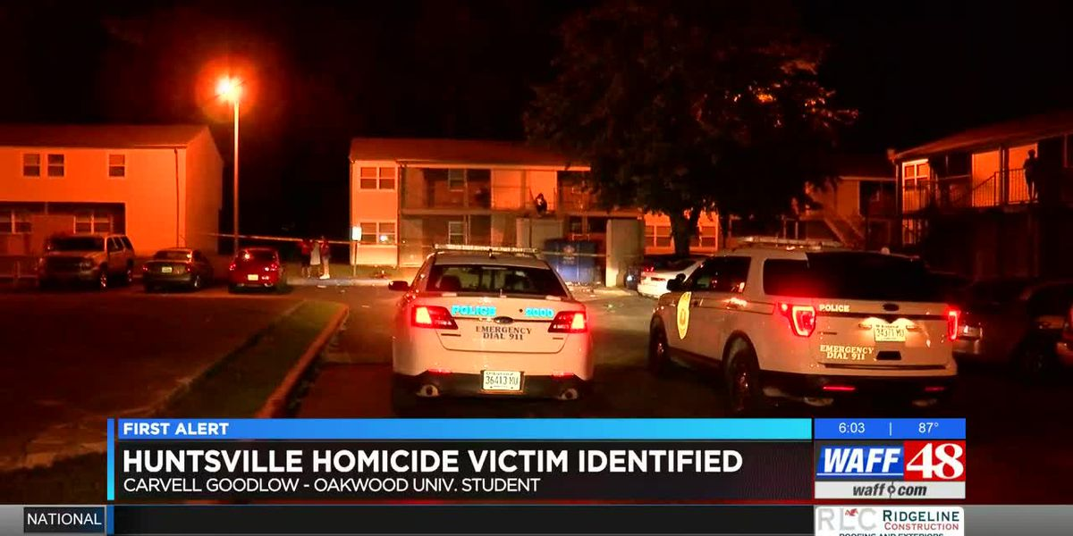 Oakwood University student fatally shot at Huntsville apartment complex