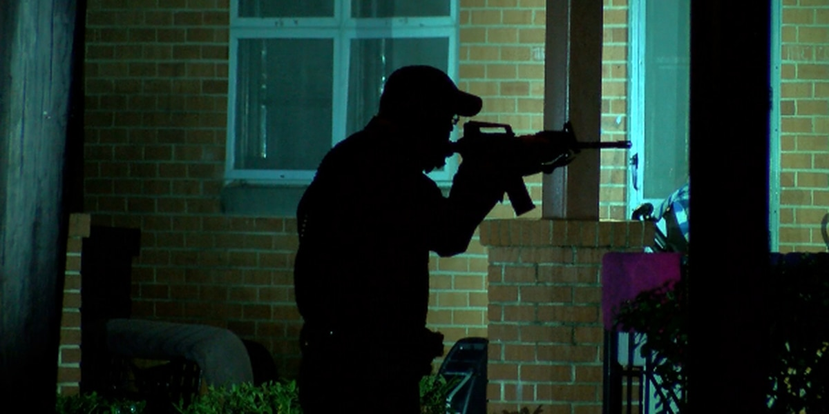 Which north Alabama law enforcement departments use AR-15s