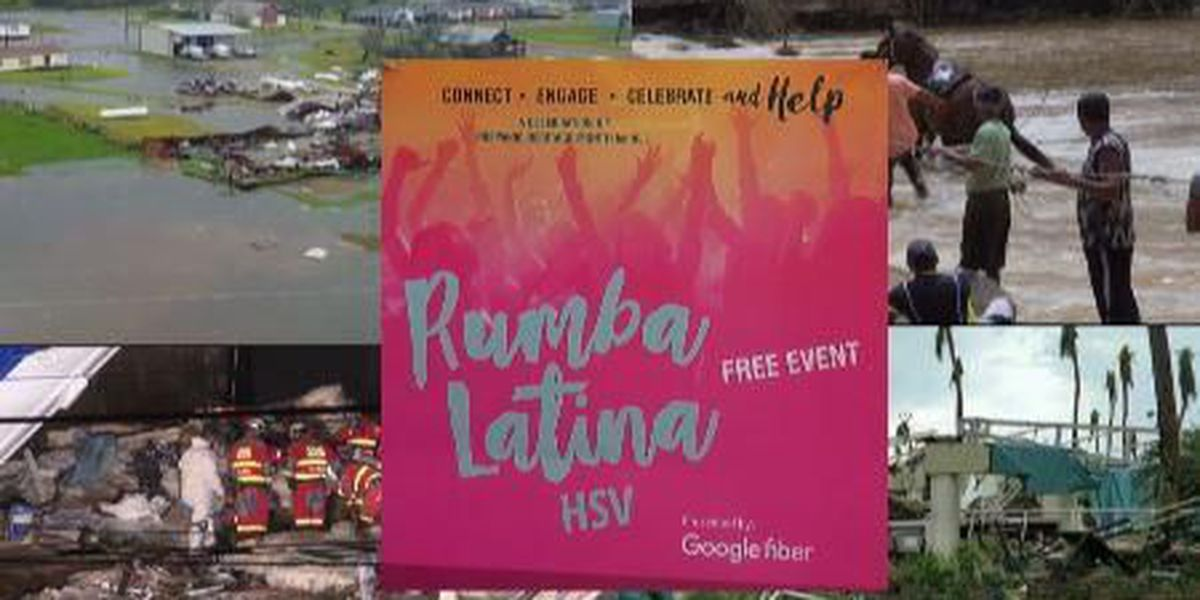 """Latina Rumba HSV now """"party with purpose"""" for disaster relief"""