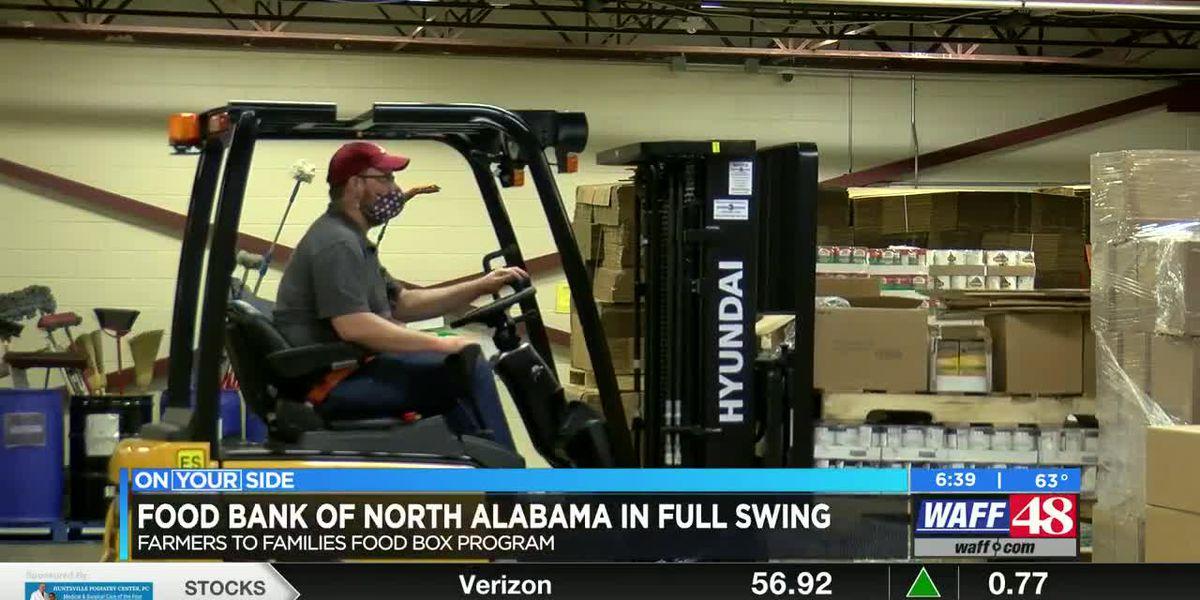 Food Bank of North Alabama in full swing