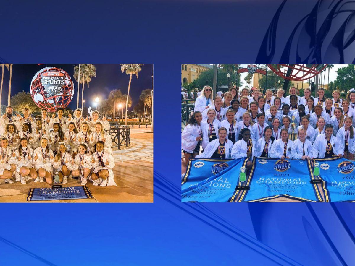 Buckhorn, Sparkman cheerleading teams win National Championships in Orlando