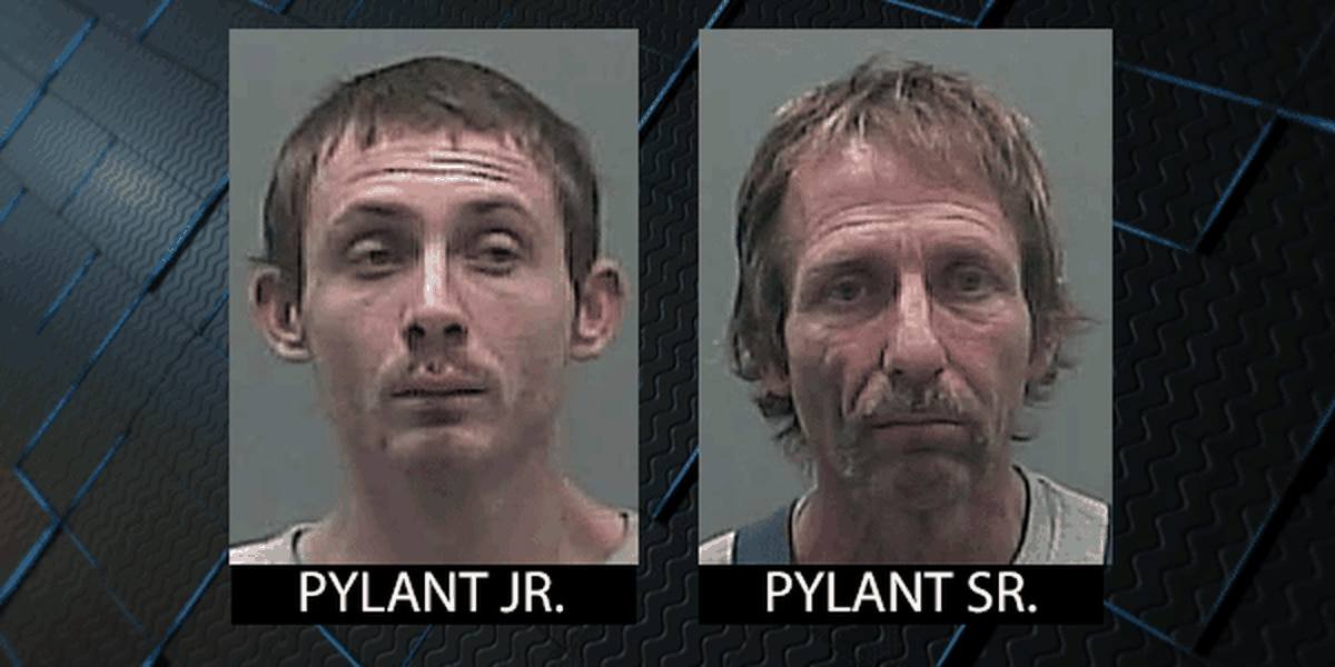 Elkmont father and son arrested for allegedly trying to steal Limestone County Commission vehicle