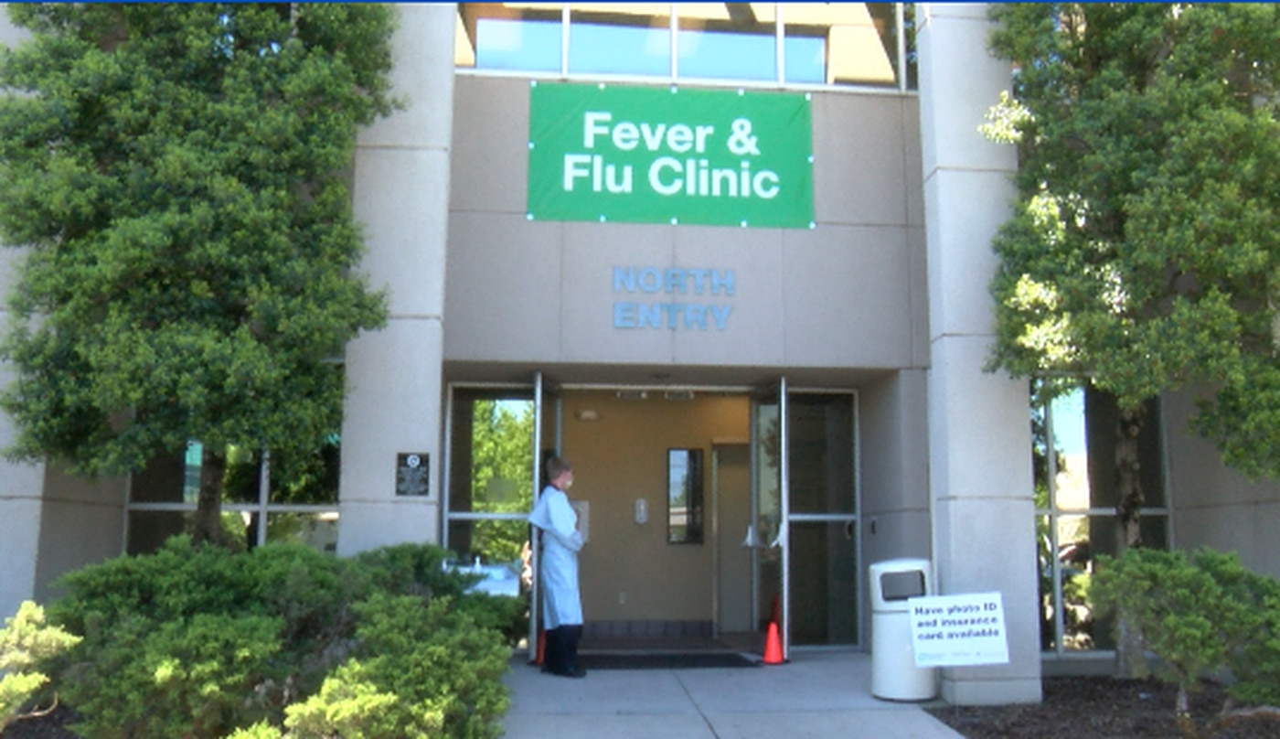 An administrator with Huntsville Hospital says the clinic was first seeing about 200 patients per day. Now they're averaging around 60.