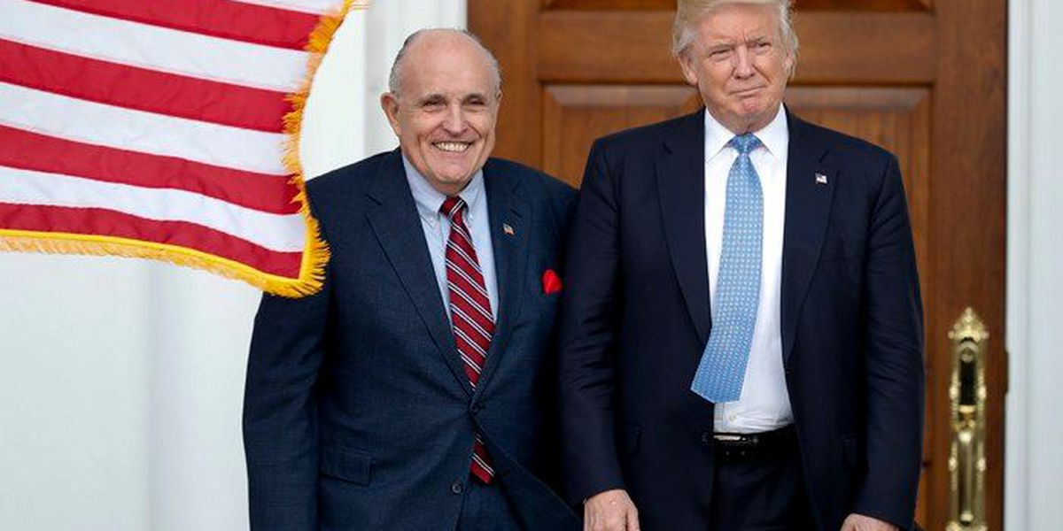 Giuliani: Trump can't be indicted, Mueller team admits