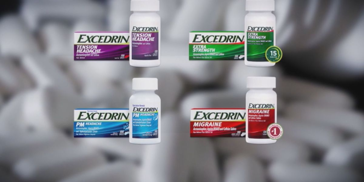 Can't find your Excedrin medicine at the store? Here are some options