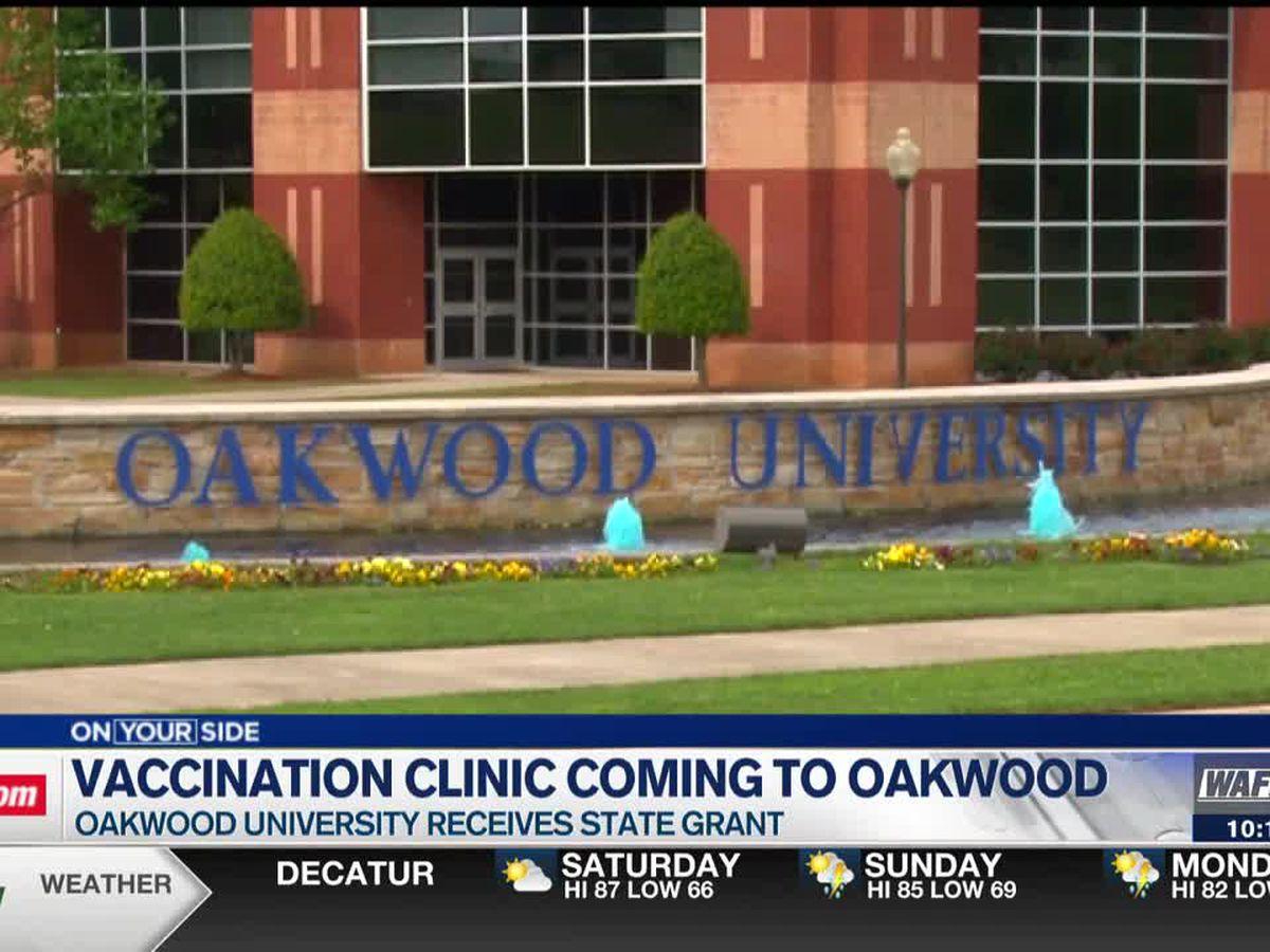 Oakwood University will soon start a vaccine clinic