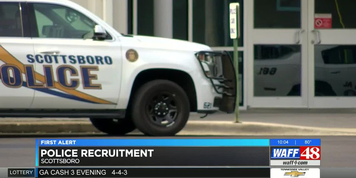 Scottsboro police working to increase department recruiting