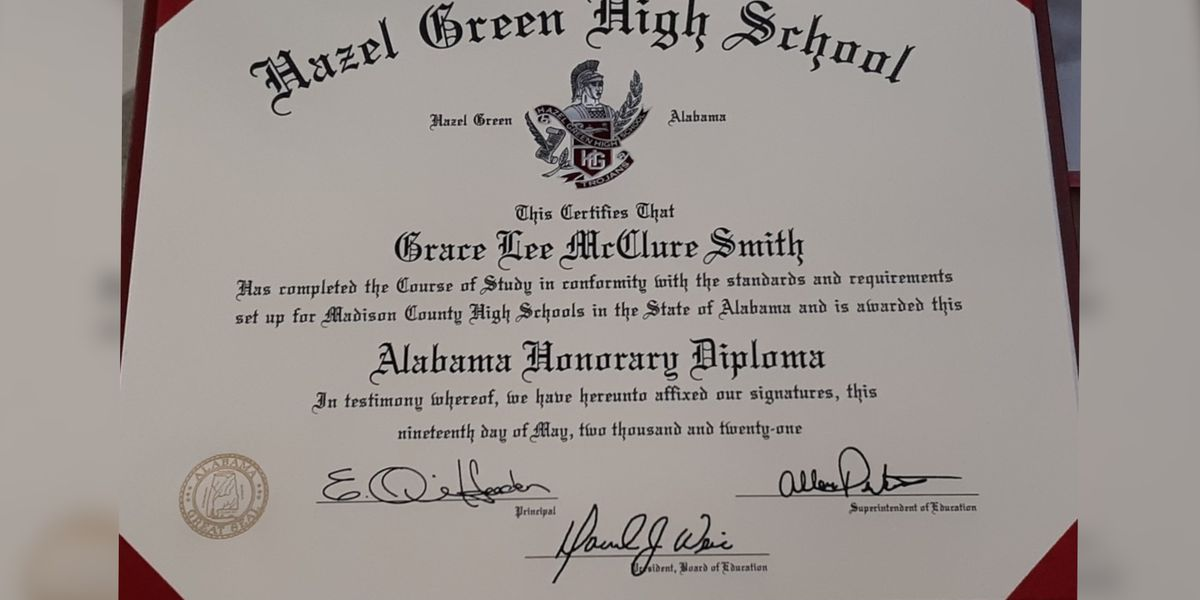 Madison County Schools honor 94-year-old woman with special graduation ceremony