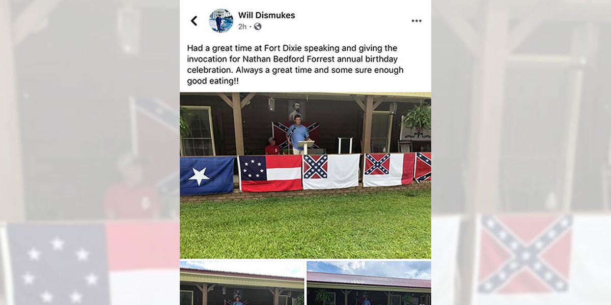 Alabama lawmaker who honored Klan leader says he's surprised by criticism
