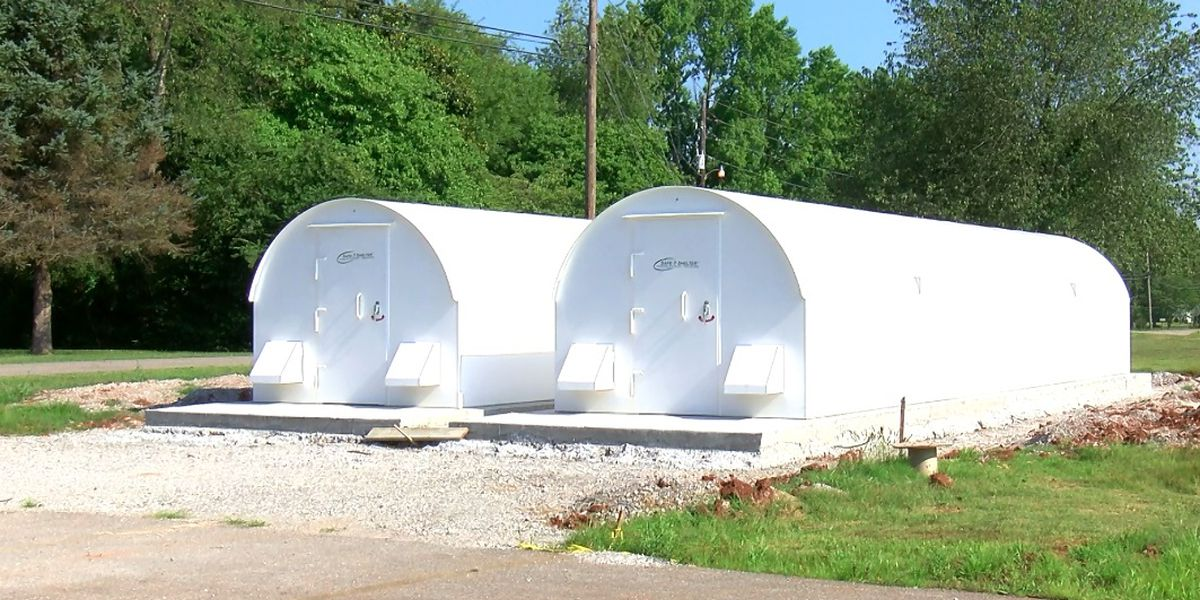 Meridianville public storm shelter near completion