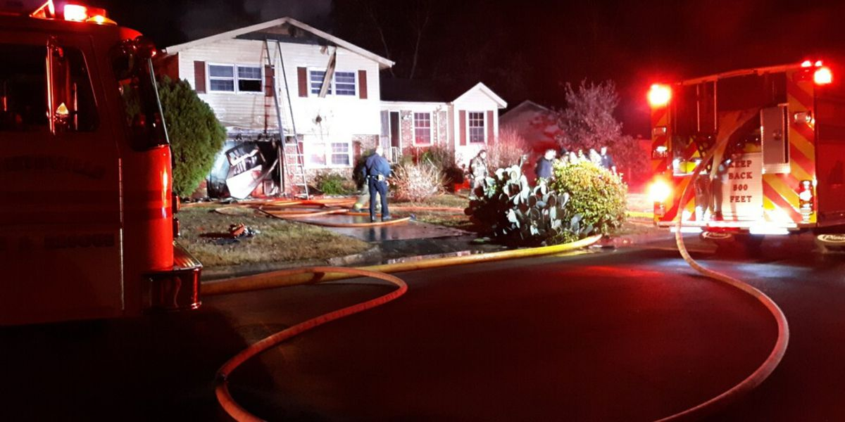 Firefighters investigating overnight house fire on Venetian Way