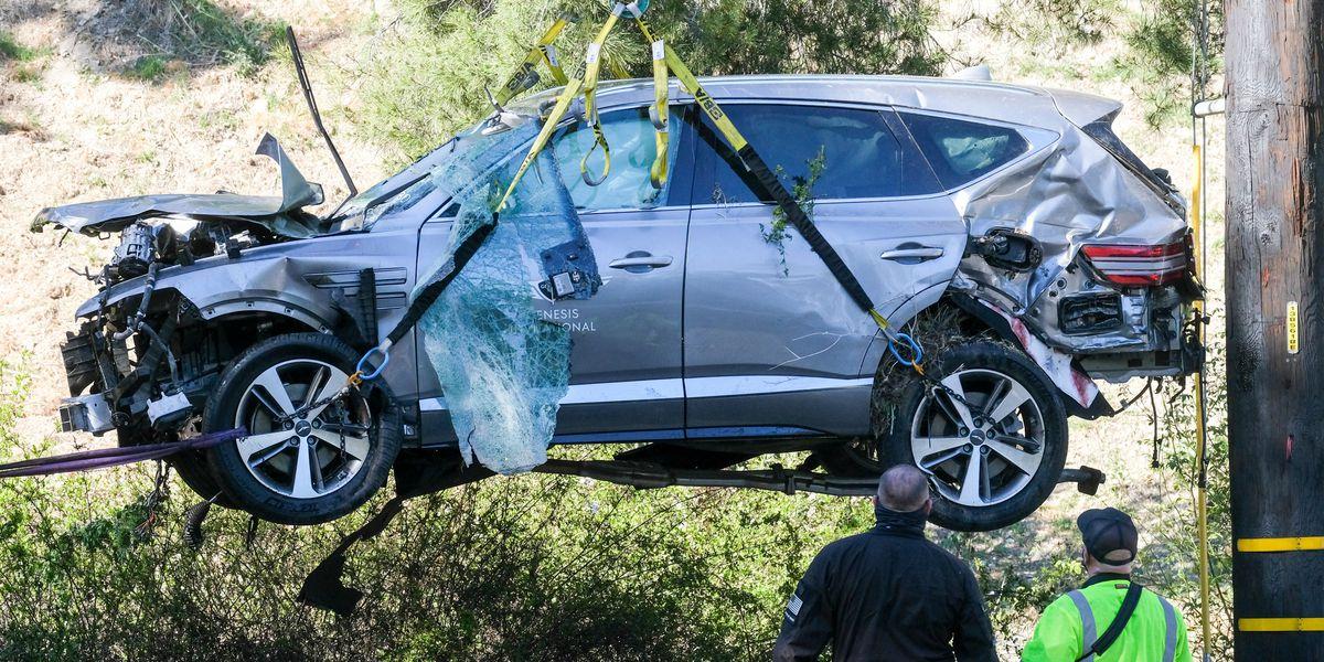 Tiger Woods was speeding before crashing SUV, sheriff says