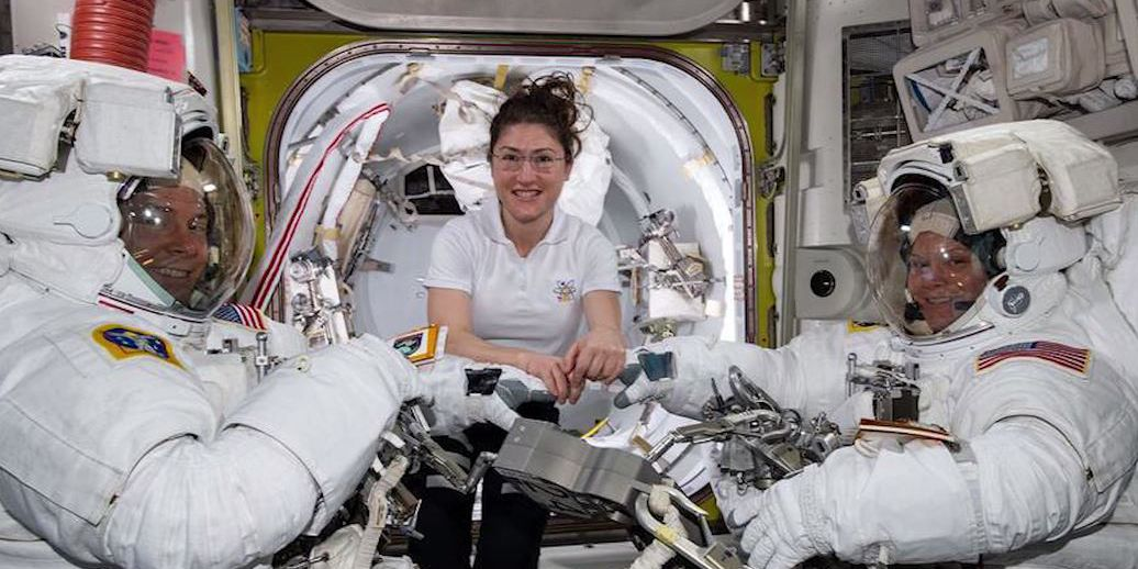 NASA cancels first all-female spacewalk - not enough spacesuits that fit