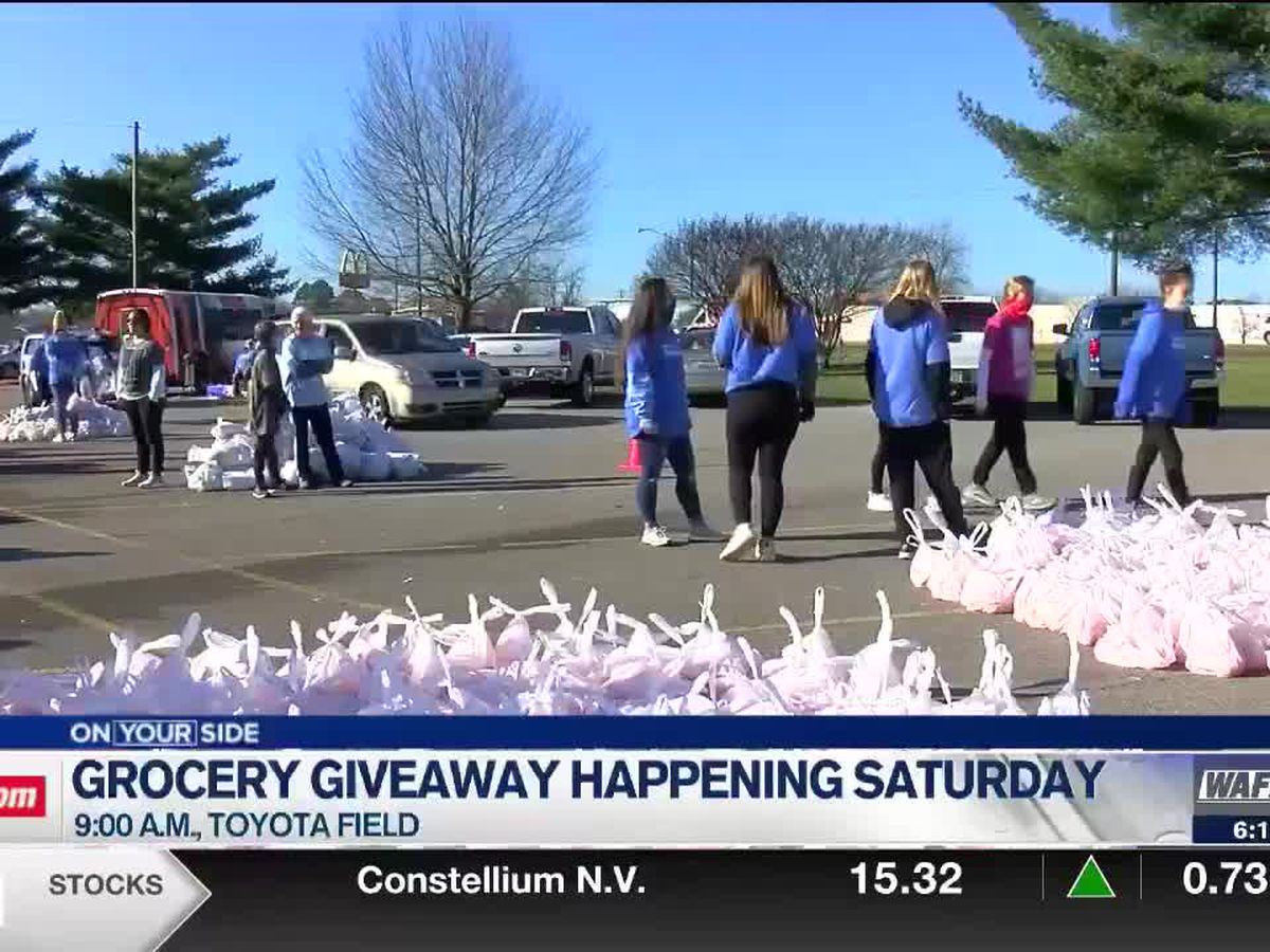 Food giveaway at Toyota Field this weekend