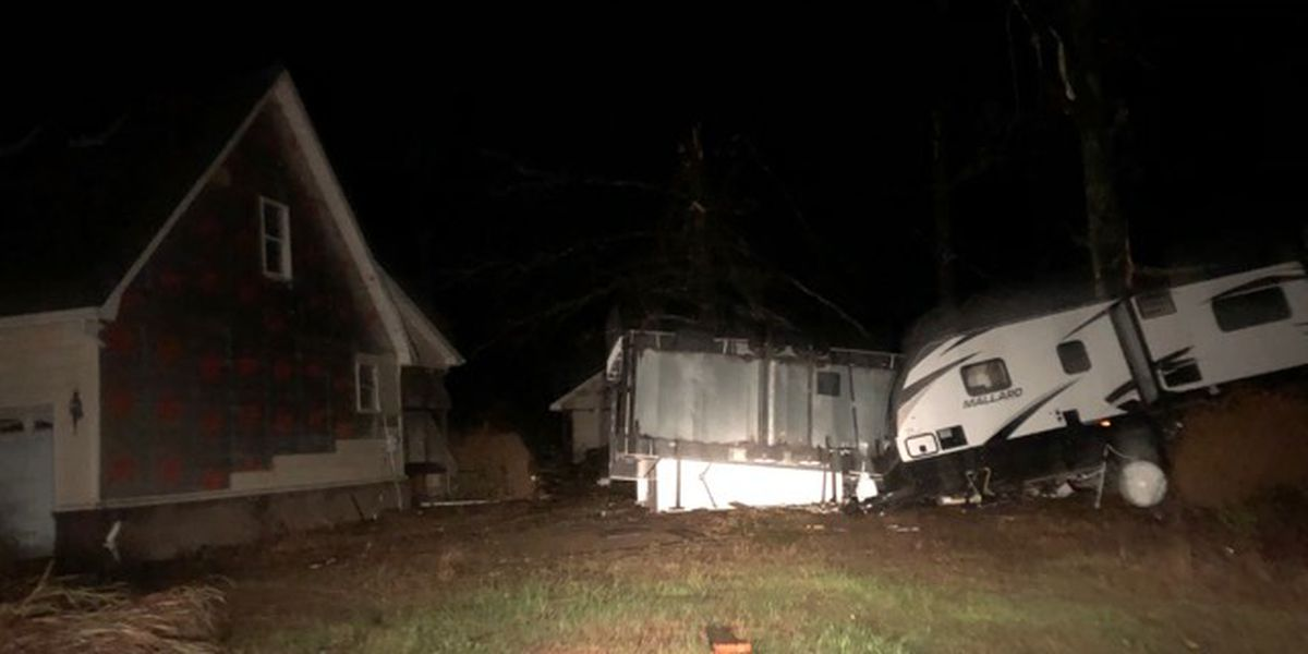 Storm damage in the Tennessee Valley
