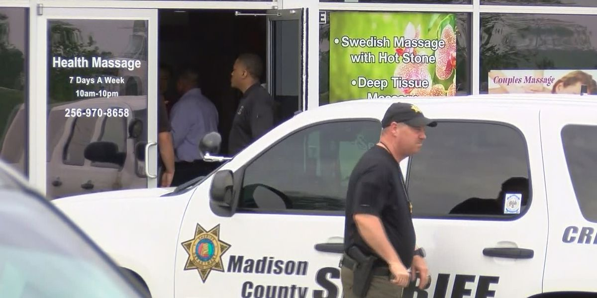 Massage parlors investigated over illegal 'sexual services' in Madison, Morgan counties