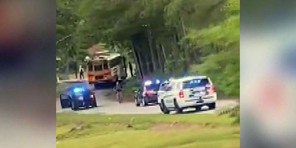 Armed Fort Jackson trainee hijacked SC school bus full of children, police say
