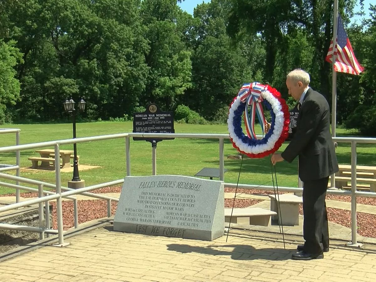 Florence hosts Memorial Day ceremony despite pandemic