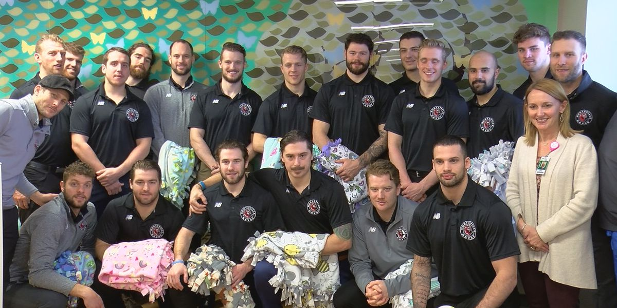 Havoc visit NICU ahead of Melissa George Night
