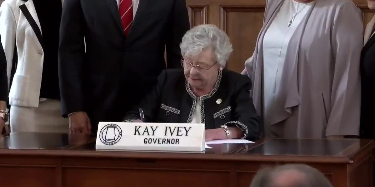 Alabama Gov. Kay Ivey Signs 'Chemical Castration' Bill into Law
