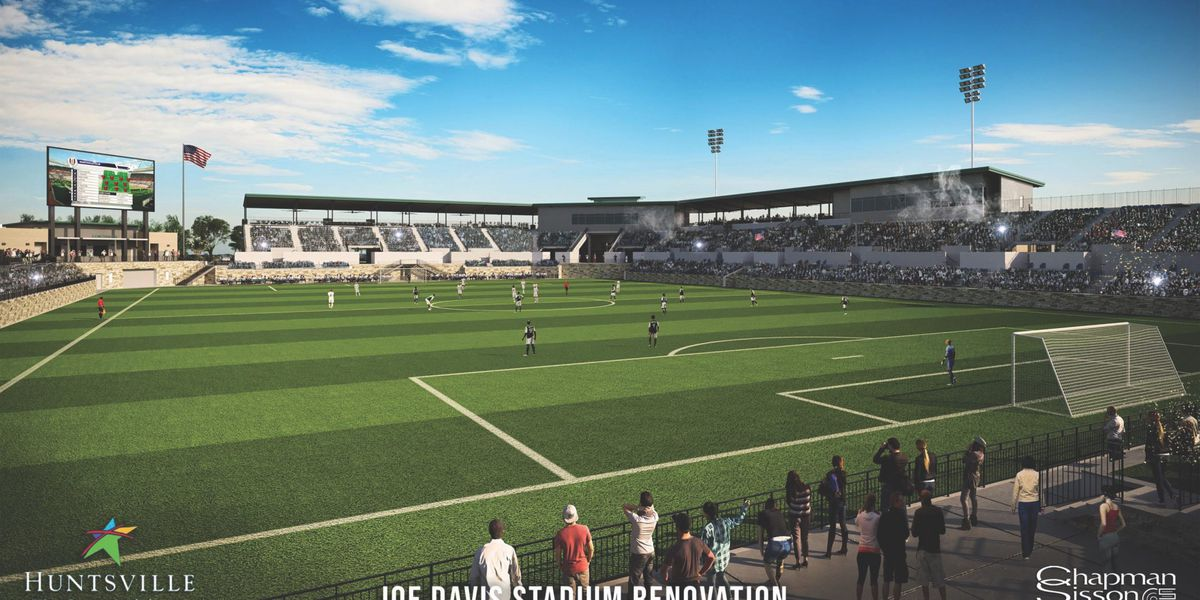 City leaders weigh in on plans for upgrading Joe Davis Stadium