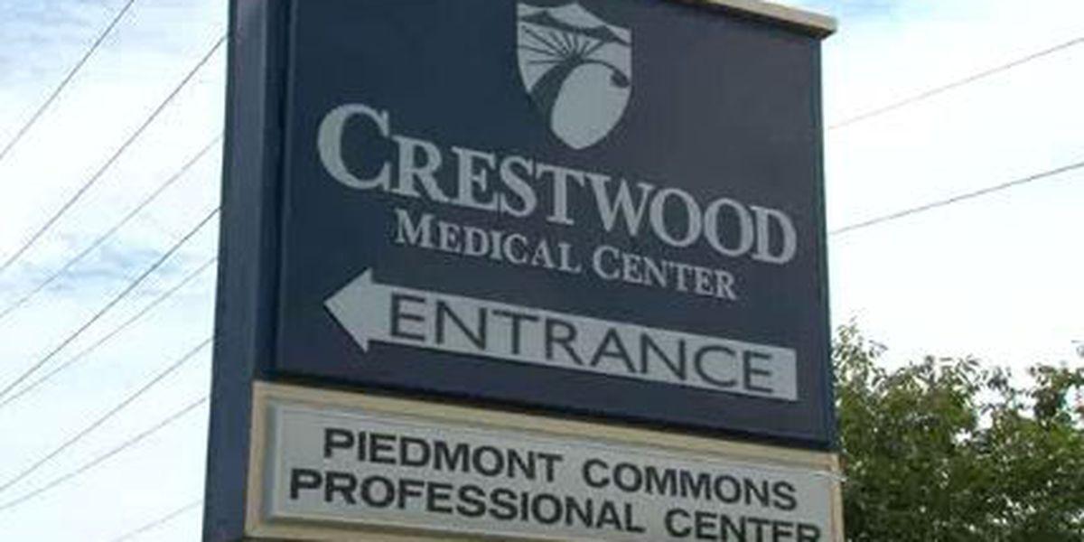 Crestwood inpatient behavioral health services temporarily suspended