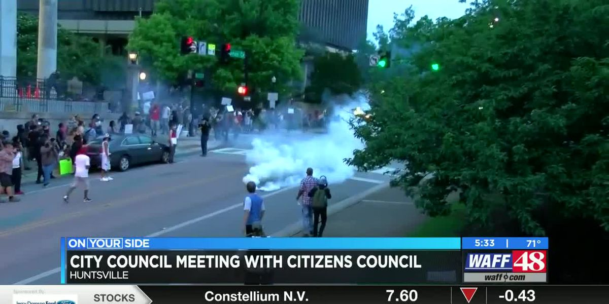 Citizens Advisory Council proposes investigation on protests three weeks ago