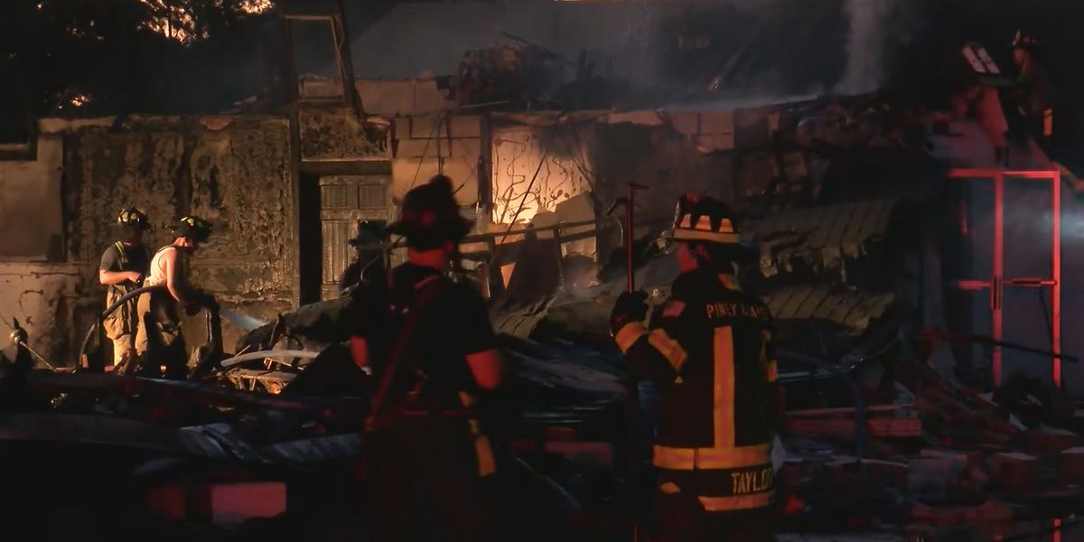 Elkmont church destroyed in fire