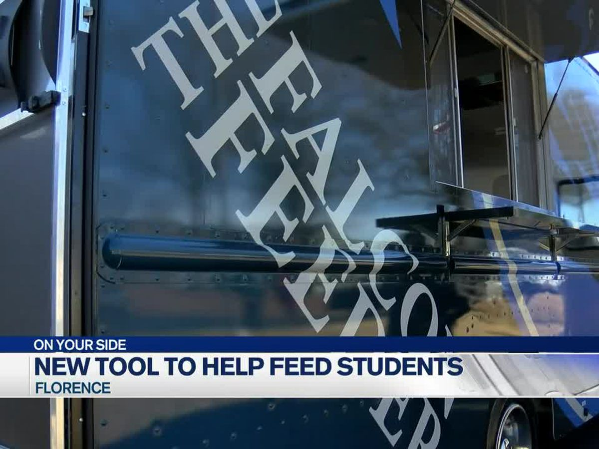 Florence City Schools combating student hunger with new food truck