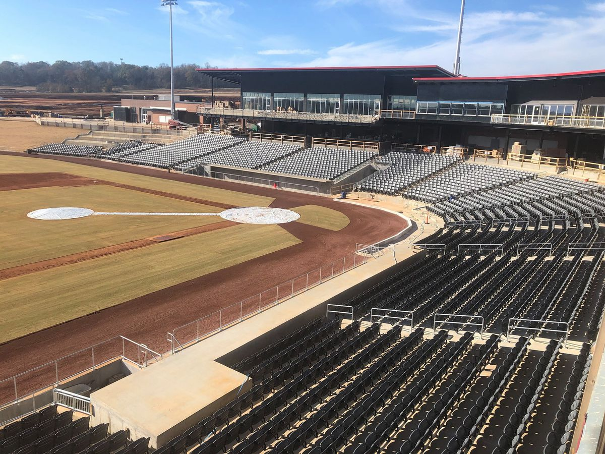 Madison ballpark construction progress on track for opening day