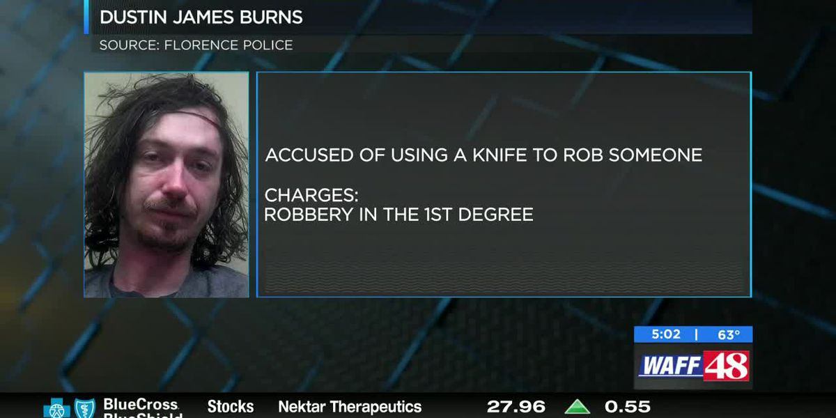 Panhandler accused of pulling knife on man in Florence