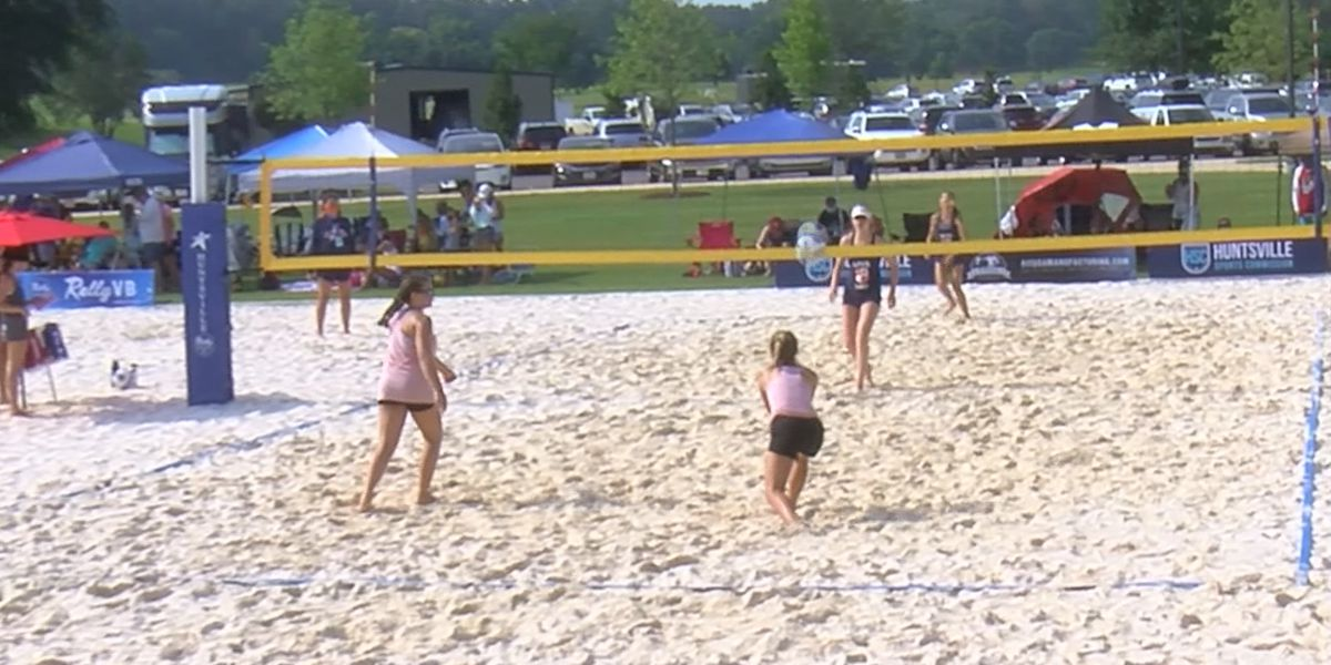 National volleyball championships in Huntsville this week